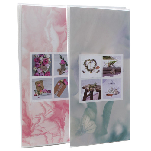 Lot de 2 albums photo Blooming Love 96 pochettes 11X15