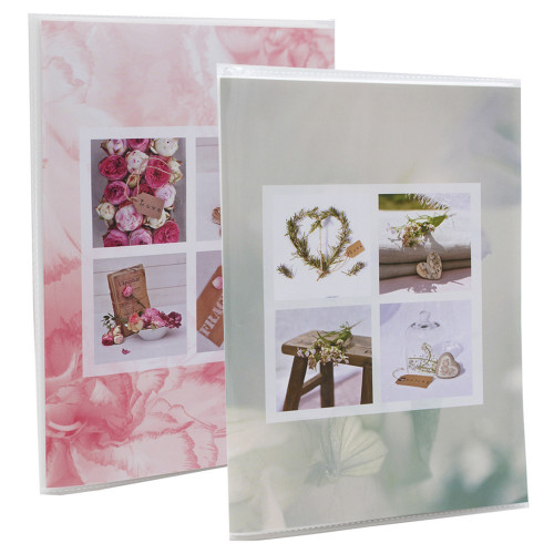 Lot de 2 albums photo Blooming Love 64 pochettes 11X15