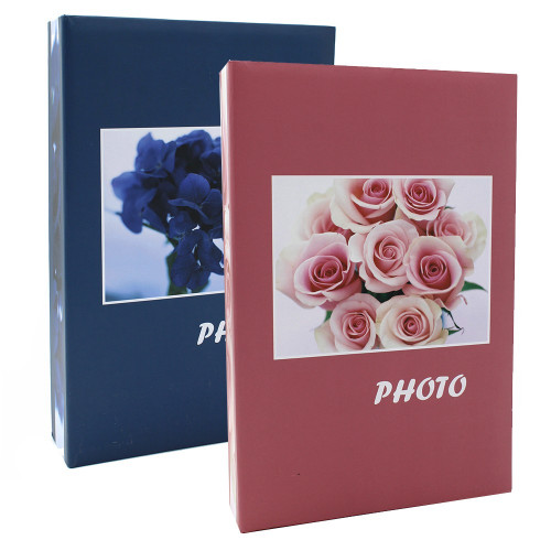 LOT 2 ALBUMS PHOTO BOUQUET BLRG 402 POCHETTES 10X15