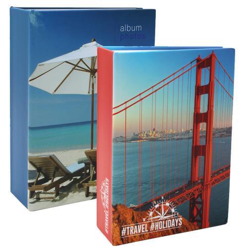 Lot 2 albums photo Holidays 100 pochettes 13x18