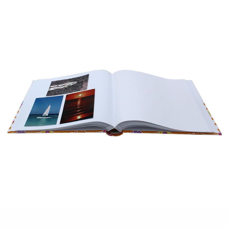 Lot de 2 albums traditionnel Shining Flowers pour 400 photos - Bleu Vert