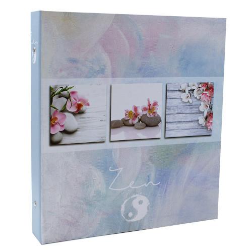 Classeur photo à pochettes Soft Zen pour 400 photos 11x15