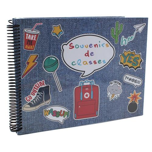 Album photo scolaire Souvenirs de classe YES