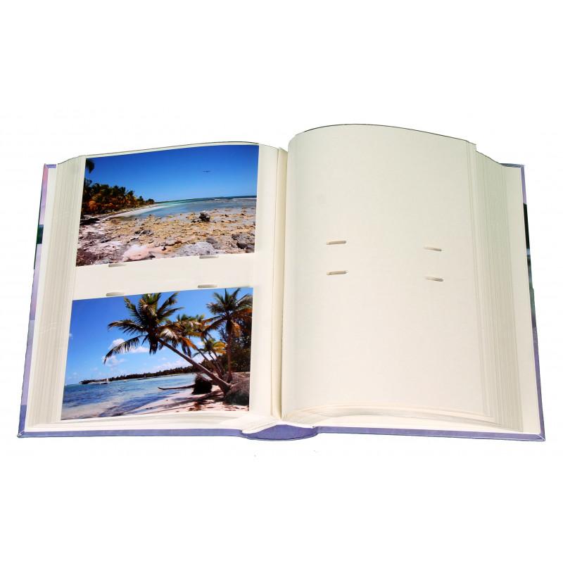 ALBUM PHOTO SOLEIL ROSE 200 POCHETTES 10X15