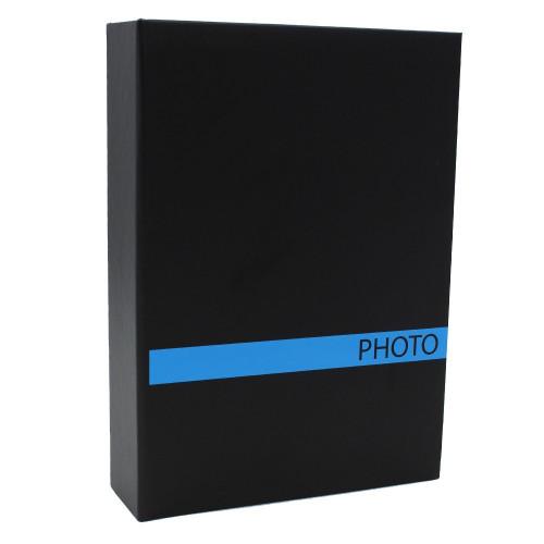 ALBUM PHOTO SENSATION 200 POCHETTES 10X15 BLEU