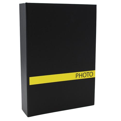 ALBUM PHOTO SENSATION 200 POCHETTES 10X15 JAUNE