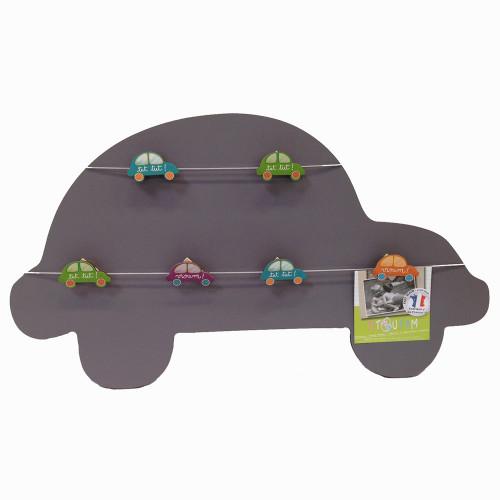 Titoutam-Pêle-mêle voiture P'tits pilotes 6 vues gris