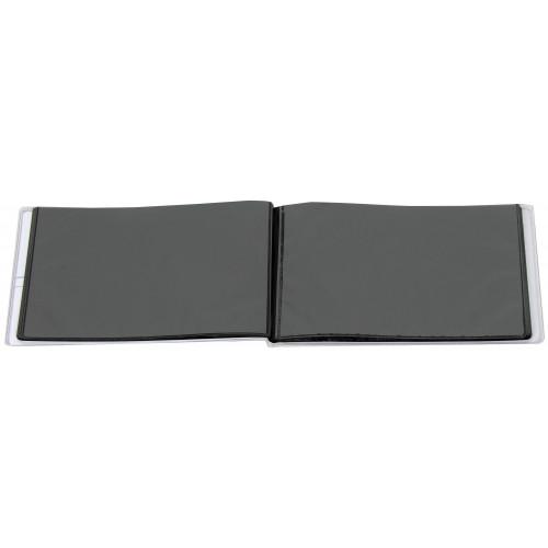 MINI-ALBUM-PLUSH-N5-40-POCHETTES-10X15-OUVERT-VIDE