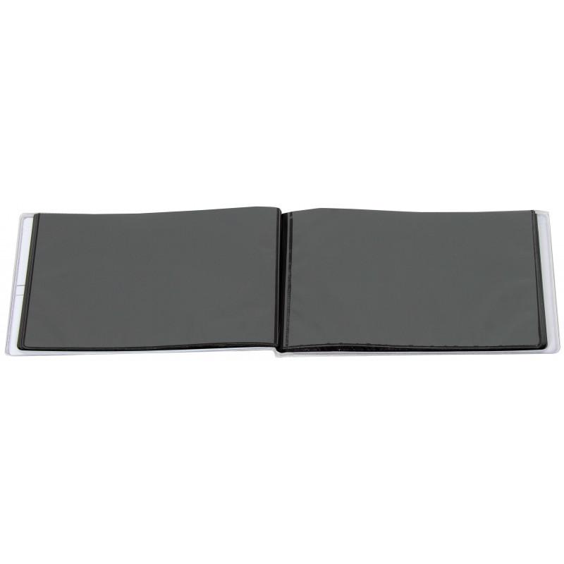 MINI-ALBUM-PLUSH-N6-40-POCHETTES-10X15-OUVERT-VIDE