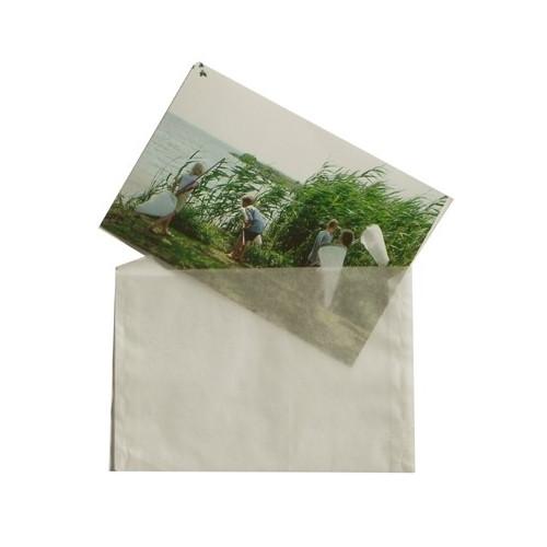 100 pochettes de protection en papier cristal pour photo 9x13