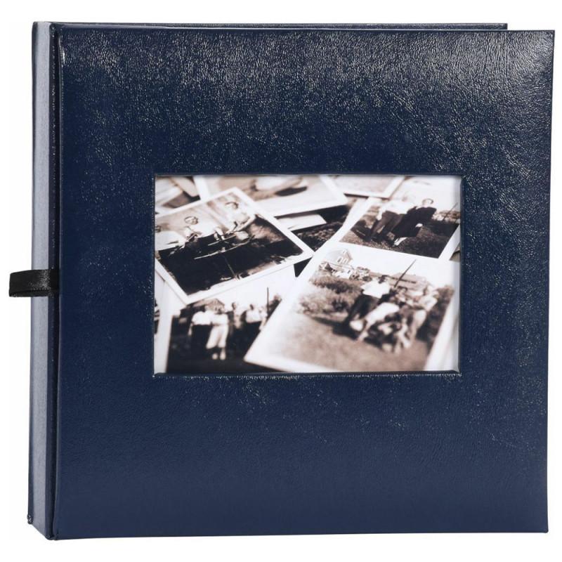 ALBUM PHOTO EDITION 200 POCHETTES 10X15 BLEU MARINE