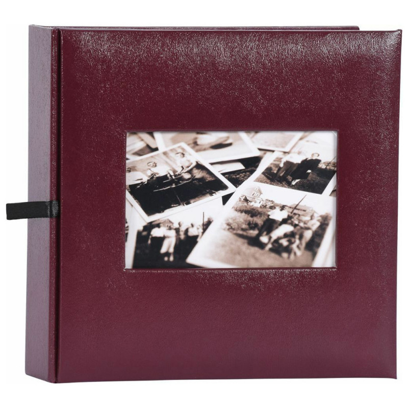 ALBUM PHOTO EDITION 200 POCHETTES 10X15 GRENAT