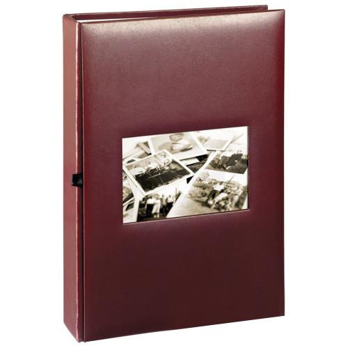 ALBUM PHOTO EDITION 300 POCHETTES 10X15 FACE GRENAT