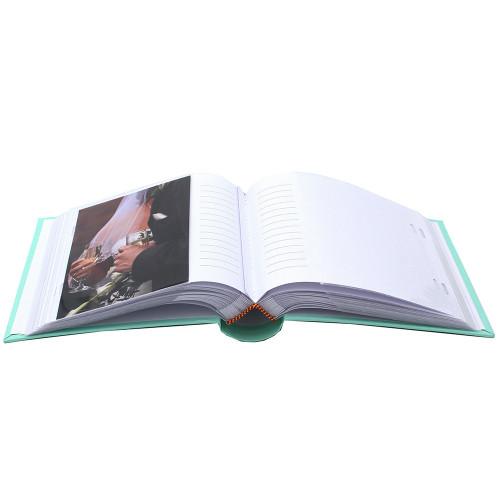 ALBUM PHOTO PASTEL 100 POCHETTES 13X18 OUVERT