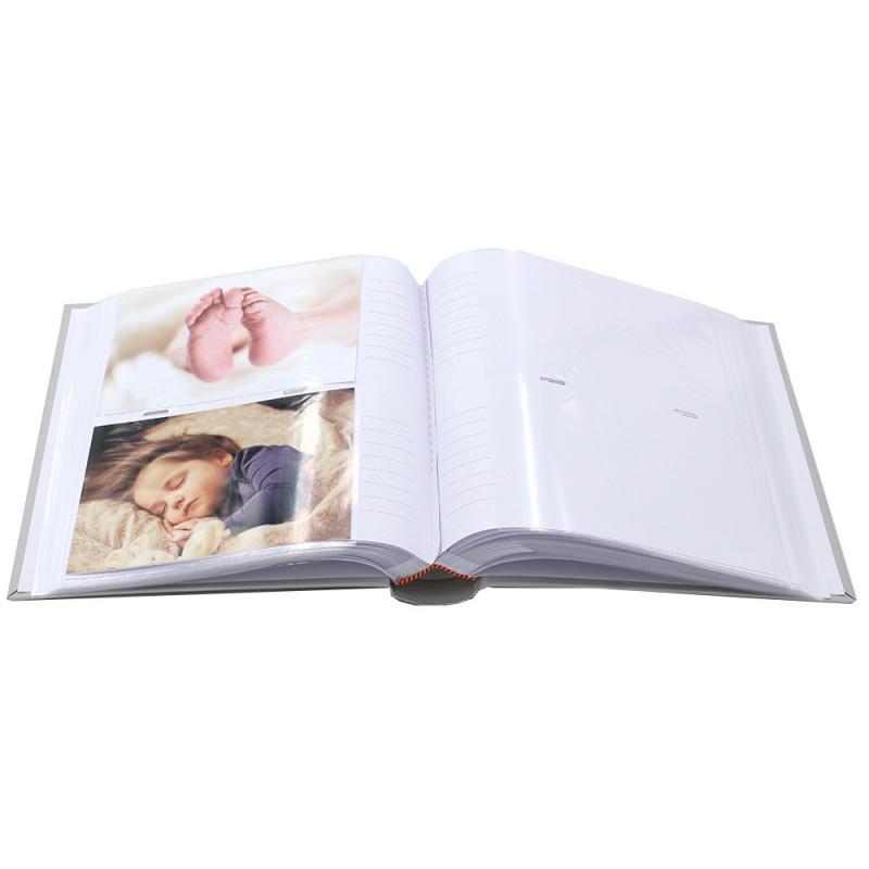 LOT 3 ALBUMS PHOTO PASTEL 200 POCHETTES 10X15 OUVERT
