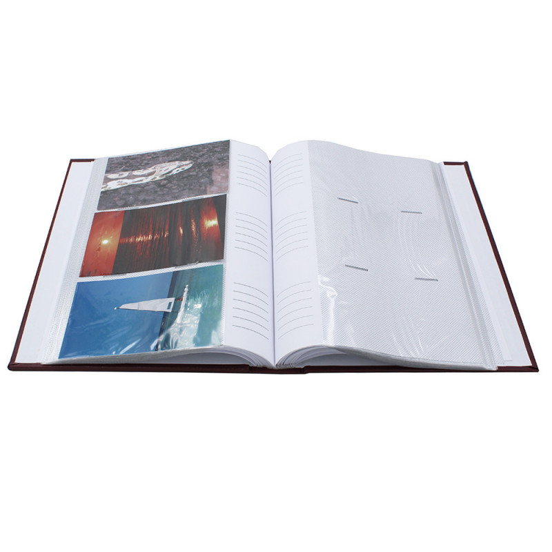 ALBUM PHOTO EDITION 300 POCHETTES 10X15 OUVERT