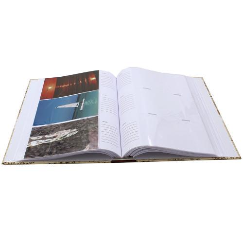 ALBUM PHOTO VINTAGE 300 POCHETTES 10X15 OUVERT