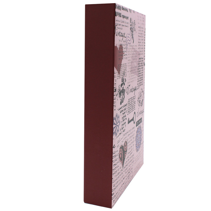 ALBUM PHOTO VINTAGE 300 POCHETTES 10X15 ROSE TRANCHE