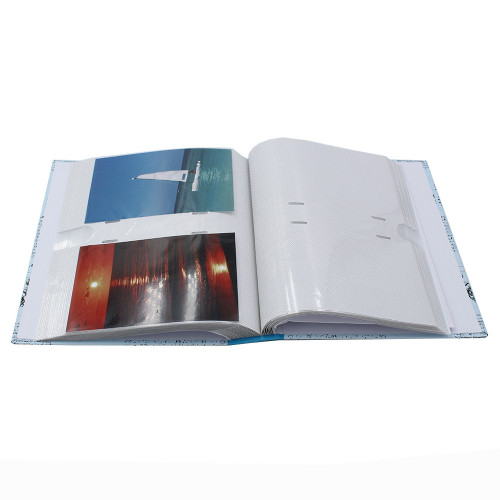 ALBUM PHOTO VINTAGE 200 POCHETTES 10X15 OUVERT