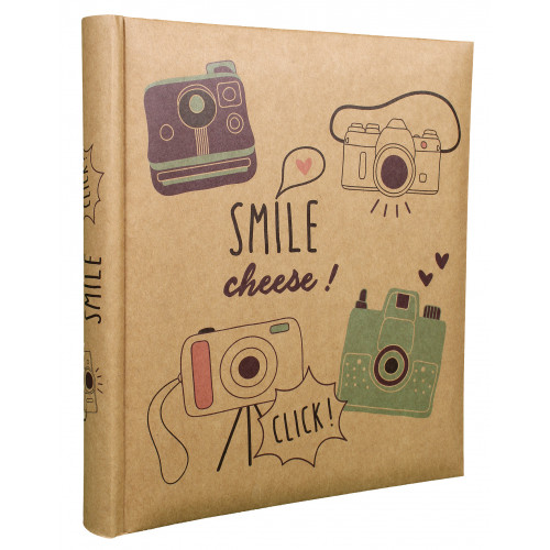 ALBUM PHOTO SMILE 100 POCHETTES 13x18 FACE
