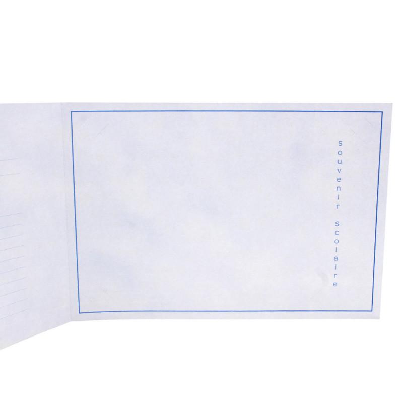 Cartonnage photo scolaire - Groupe 20x30 - Leçon - côté droit