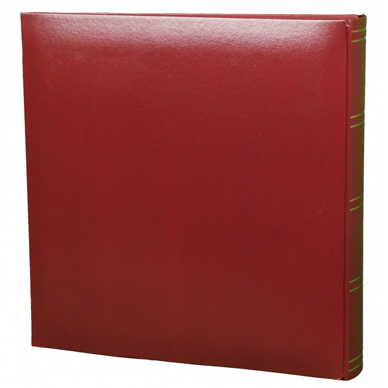 LOT-2-ALBUMS-PHOTO-TRADITIONNEL-JUMBO-SUPER-XL-DOS-BORDEAUX