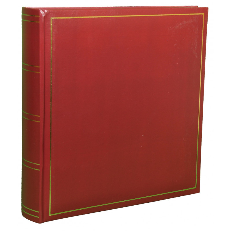 LOT-2-ALBUMS-PHOTO-TRADITIONNEL-JUMBO-SUPER-XL-FACE-BORDEAUX