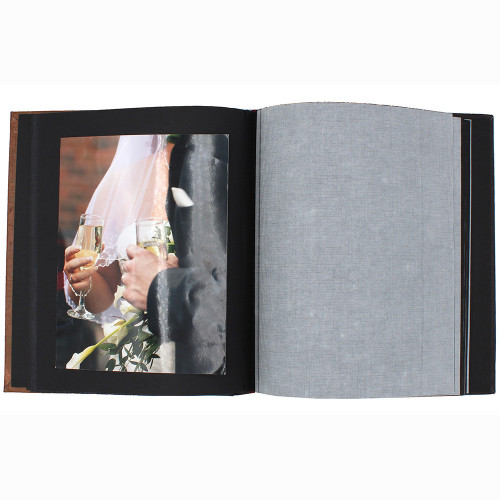 "Album photo traditionnel ""Bisk PN"" pour 180 photos 10x15- ouvert"