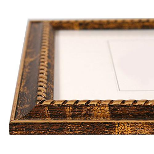 Cadre photo 20x30 doré N1 - moulure