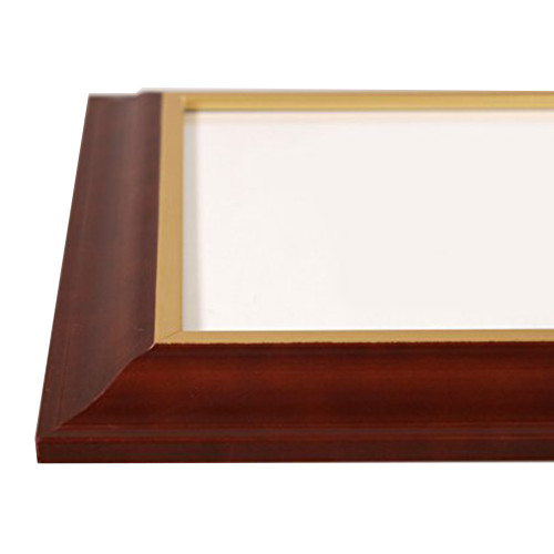 Cadre photo 20x30 N2 brun foncé - moulure