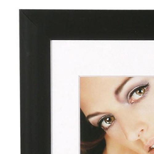Cadre photo 30x30 N3 Noir - moulure
