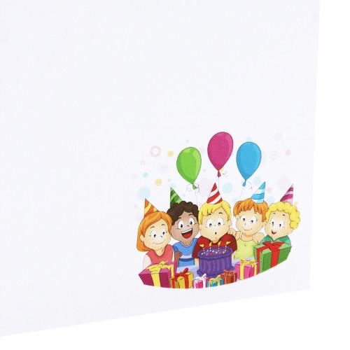Cartonnage photo anniversaire N1 - Vertical