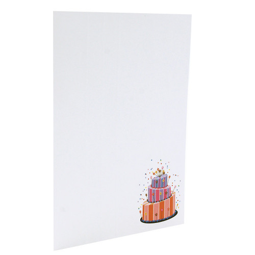"Cartonnage photo ""Anniversaire N2"" - Vertical"