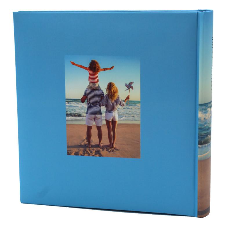 LOT DE 2 ALBUM PHOTO FR POUR 200 PHOTOS 10X15 - DOS FAMILLE