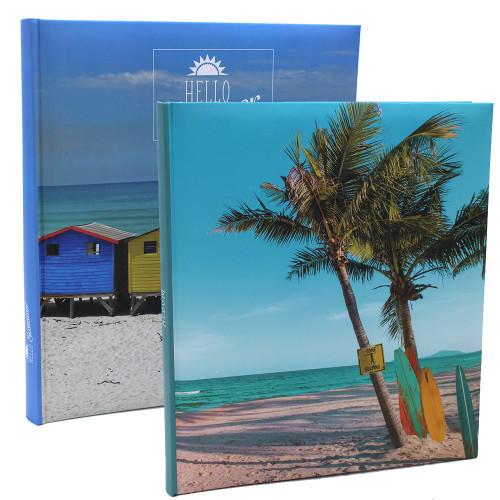 Lot de 2 albums photo Vacances 200 pochettes 10X15