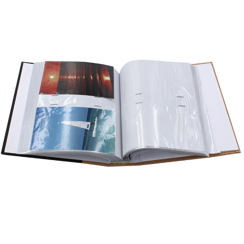 ALBUM PHOTO MEMORIES 200 POCHETTES 10X15 - OUVERT
