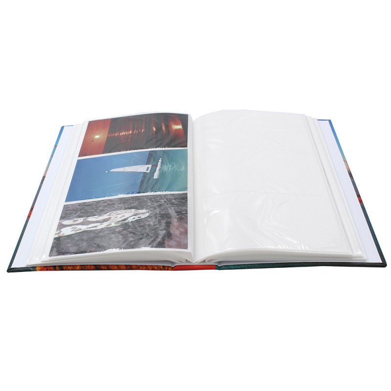 LOT 2 ALBUMS PHOTO HOLIDAYS 300 POCHETTES 10X15 - OUVERT