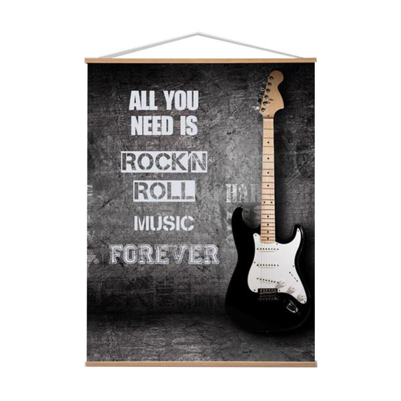 Toile Kakemo 40x60 Rock'n Roll Emdé