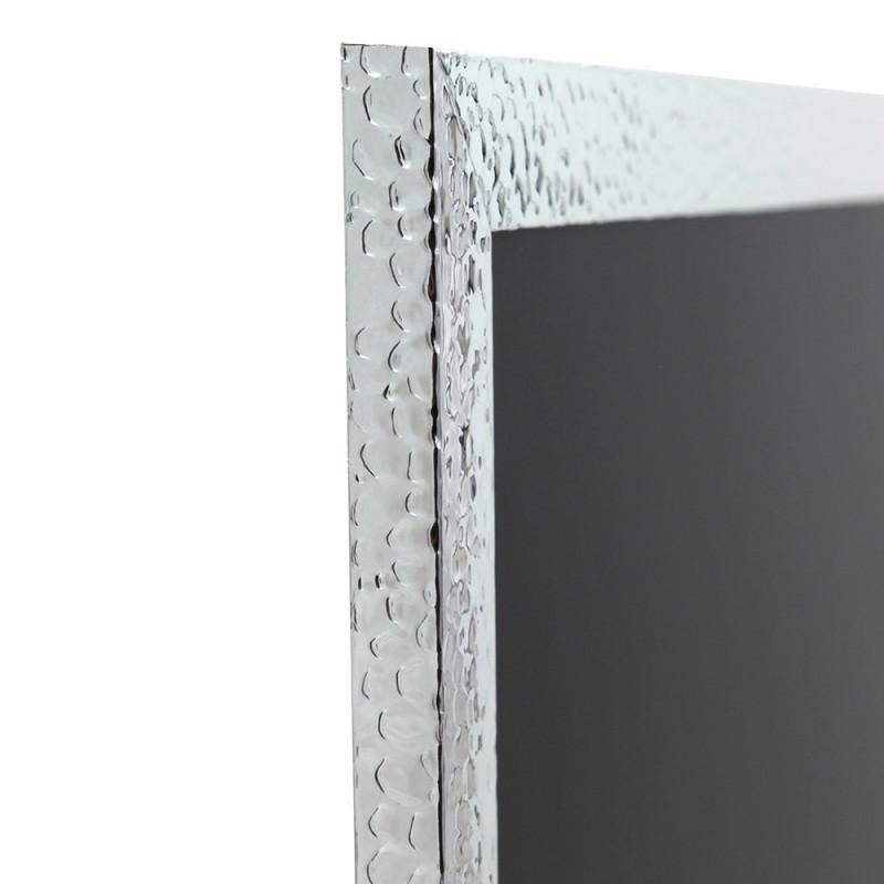 Pêle-mêle magnétique 40x50 martelé argenté