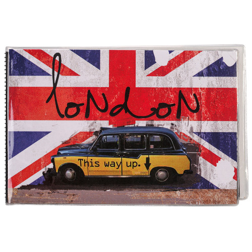 """Mini album à pochette """"London Car"""" pour 24 photos 11,5x15"""