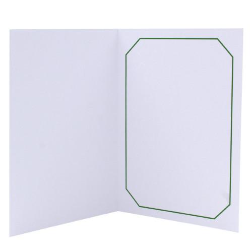 Cartonnage photo blanc - Octo Vert foncé