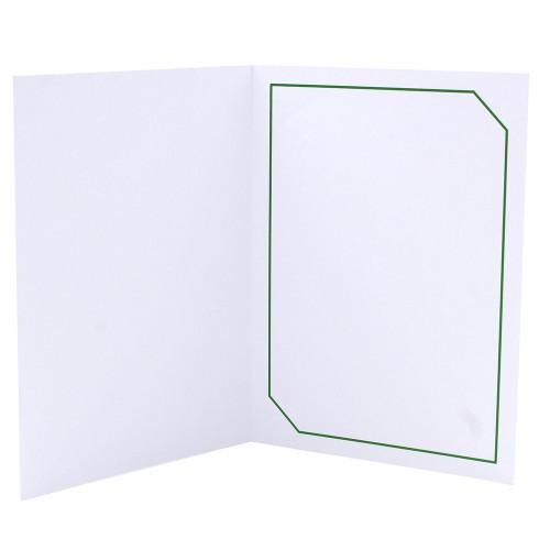 Cartonnage photo blanc - Hayange Vert foncé