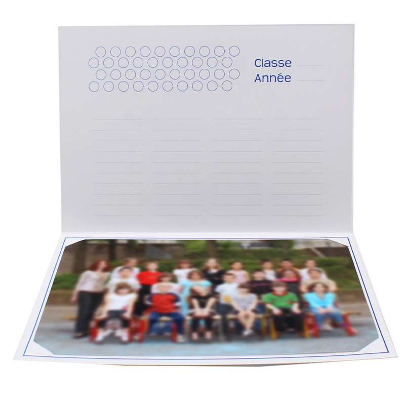 Cartonnage photo scolaire - Groupe 20x30 - Terre 2