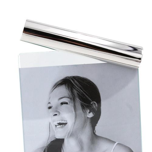 Cadre photo design 102 10x15 argenté
