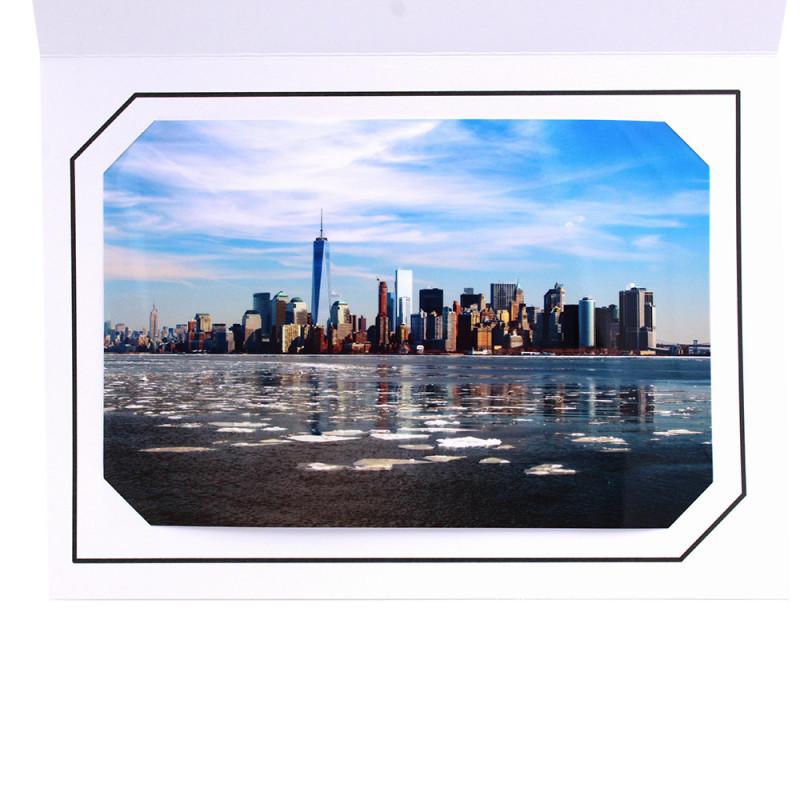 Cartonnage photo blanc - Hayange Noir
