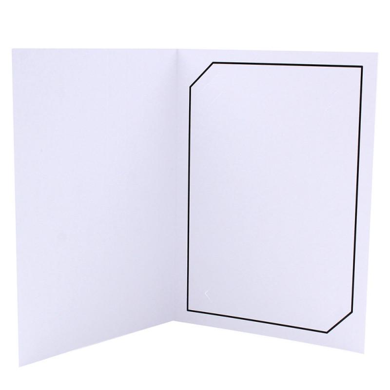 Cartonnage photo blanc - Serémange Noir