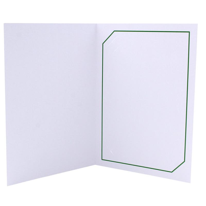 Cartonnage photo blanc - Serémange Vert foncé