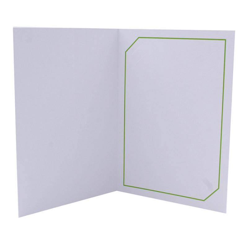 Cartonnage photo blanc - Serémange Vert clair