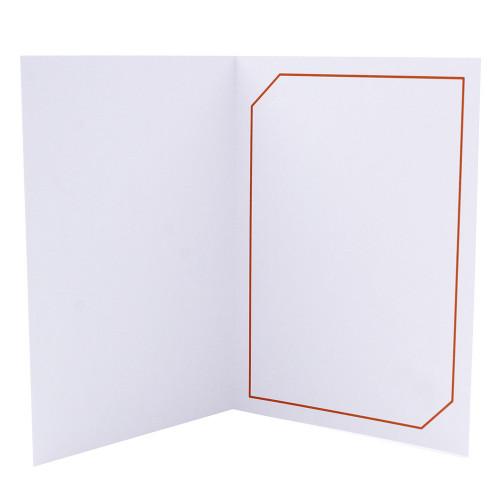 Cartonnage photo blanc - Serémange Orange
