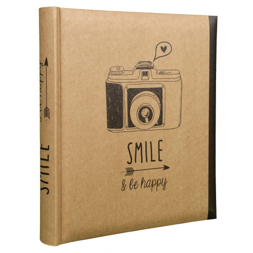ALBUM PHOTO SMILE 100 POCHETTES 13x18